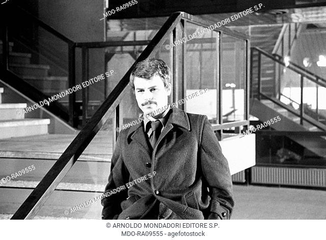 Italian actor Michele Placido in Plot of Fear. 1976