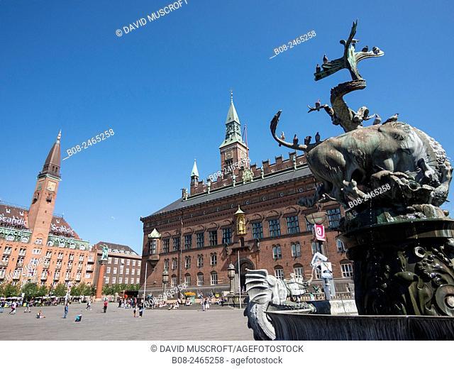 City Hall Square,Copenhagen,Denmark