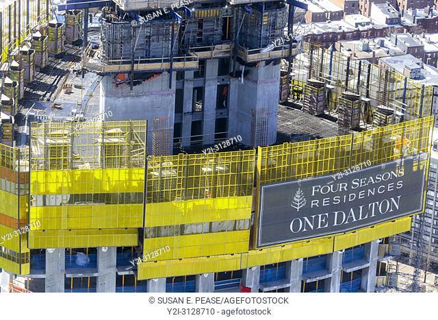 One Dalton, Four Seasons Hotel & Private Residences, Boston, Massachusetts, United States