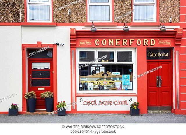 Ireland, County Clare, Doonbeg, Comerford Pub