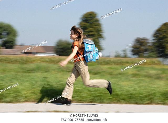 Lauf zur Schule