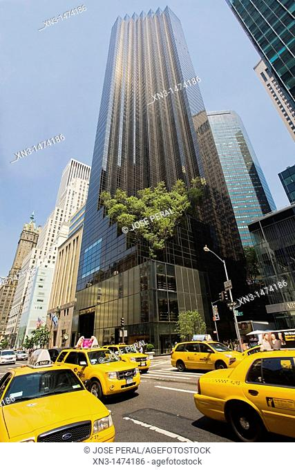 Trump Tower building, Fifth Avenue and East 56th Street, 5th Avenue, Midtown, Manhattan, New York City, New York, USA
