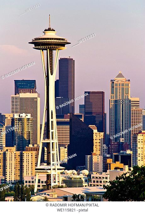 Space Needle, Seattle, Washington, USA