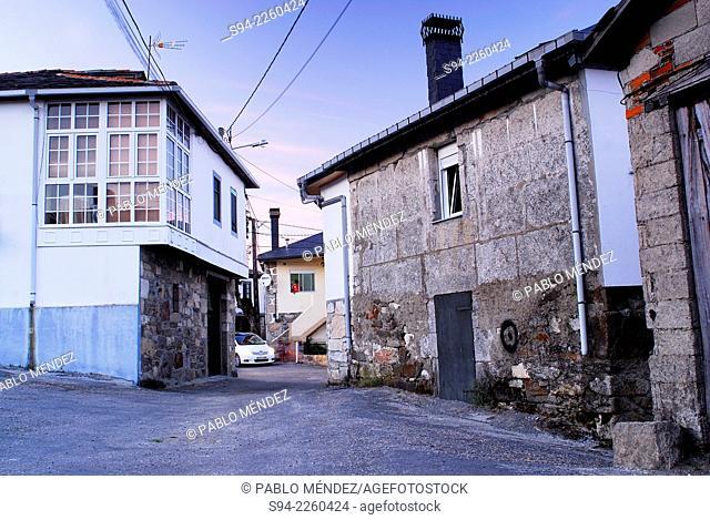 Moura's square of Mouruas, Orense province, Spain