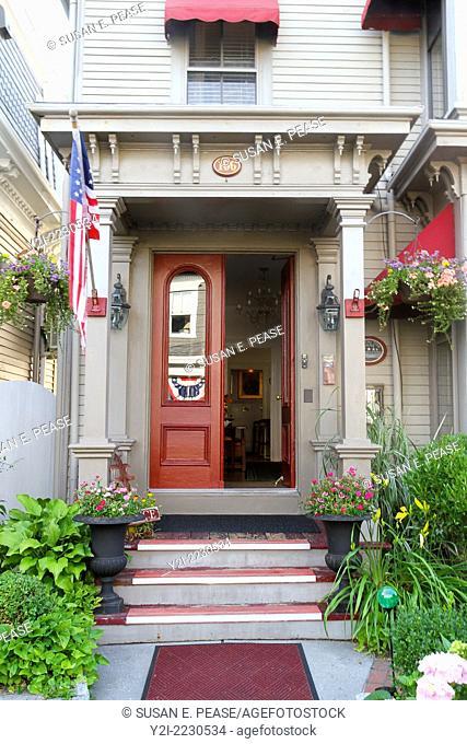 Prince Albert Guest House, Provincetown, Massachusetts, USA