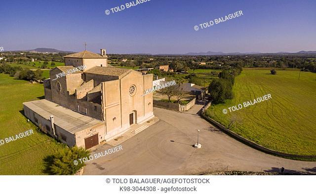 iglesia de Crist Rei, Son Valls, Felanitx, Mallorca, balearic islands, Spain