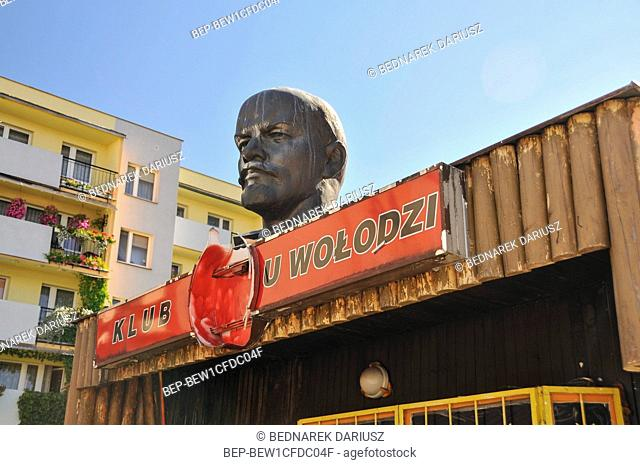 U Wolodzi club in Hajnowka, town in Podlaskie Voivodeship, Poland