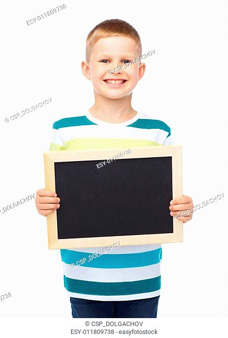 02bac86ce2ac Little boy is holding blank banner Stock Photos and Images | age ...