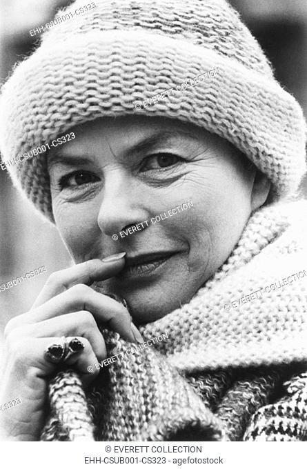 Swedish actress, Ingrid Bergman in October 1976. She was in her 43rd film, A MATTER OF TIME, with Liza Minnelli and Charles Boyer. (CSU-2015-7-327)