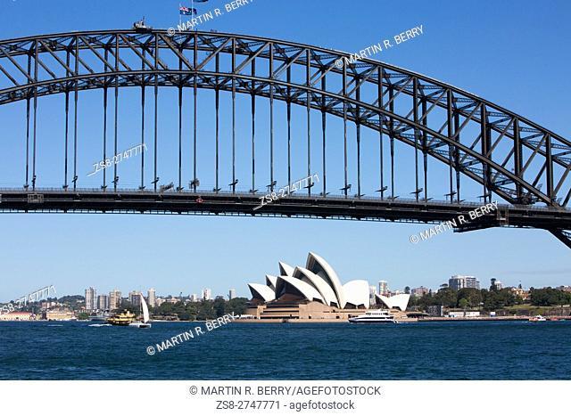 Sydney Opera House and Harbour Bridge,Australia