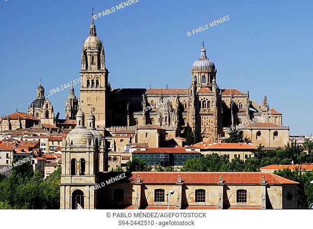 General view of Salamanca city, Spain