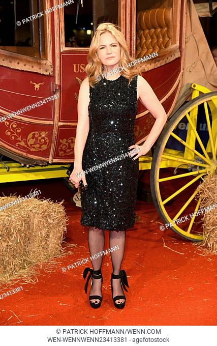 Berlin premiere of 'The Hateful Eight' at Zoo Palast - Red Carpet Arrivals Featuring: Jennifer Jason Leigh Where: Berlin