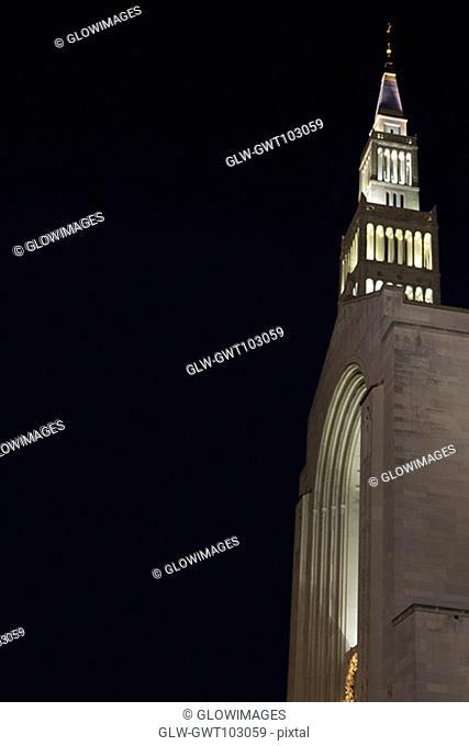 Low angle view of a church, Washington DC, USA