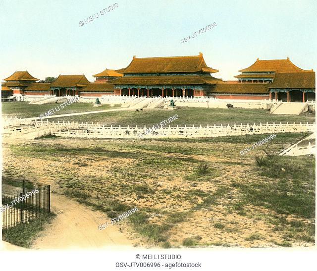 Summer Palace, Beijing, China, circa 1930