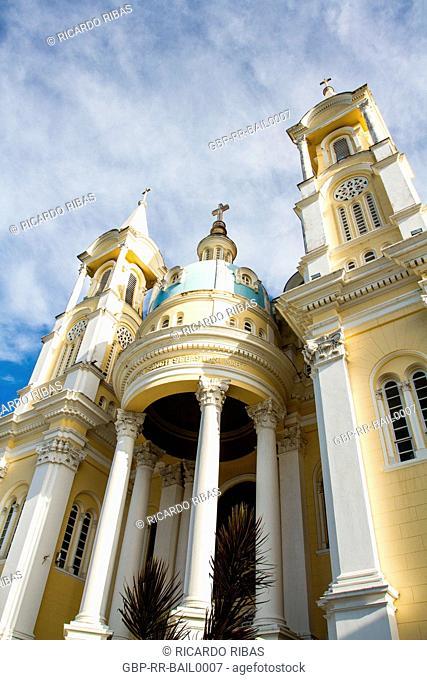 Sao Sebastiao Cathedral. Ilheus, Bahia, Brazil