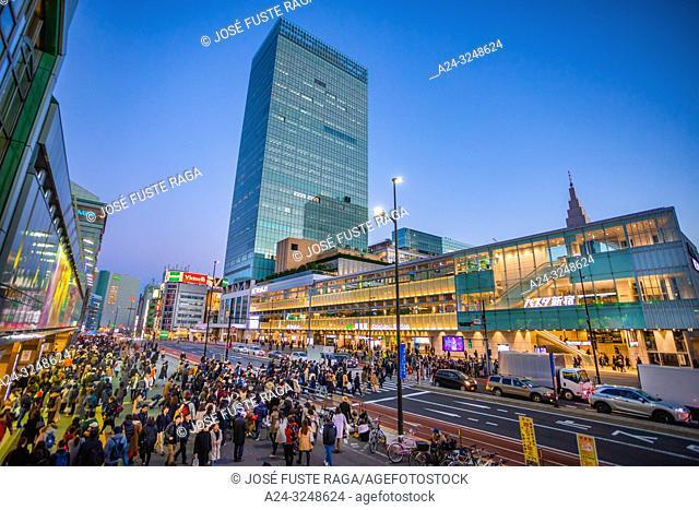 Japan, Tokyo City, Shinjuku ward, Shinjuku Station South Side