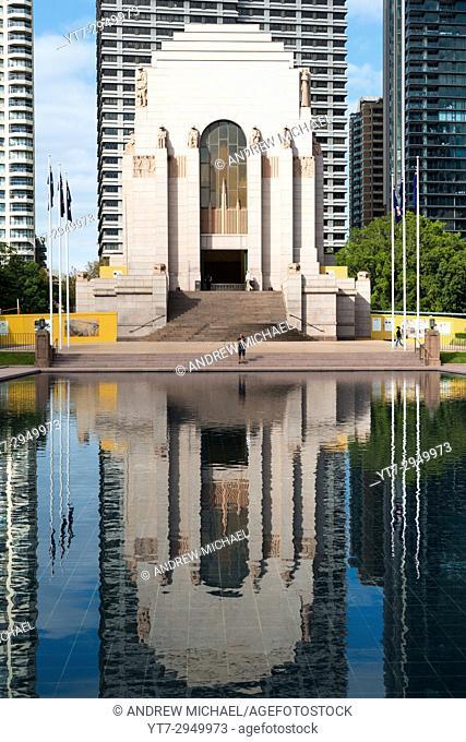 Anzac memorial in Hyde Park, Sydney, Australia