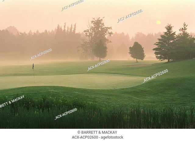 Golf Course in Guelph, Ontario, Canada