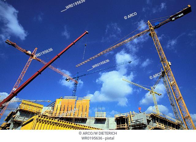 Building, site