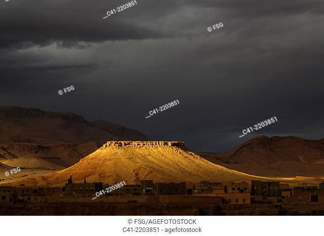 Tineghir.Morocco