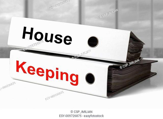 office binder house keeping