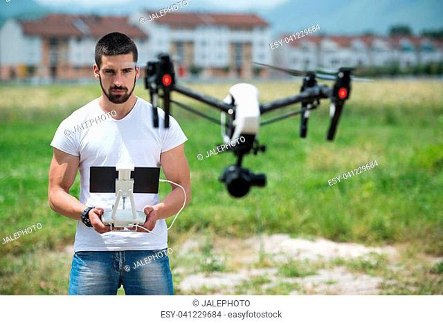 Remote Control for the Drone in the Hands of Man