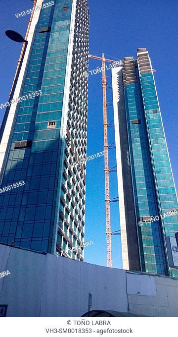 Levent Skyscrapers. Modern Istanbul. Turkey