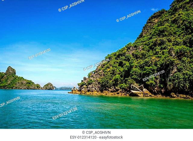 Ha long bay at Quang Ninh province