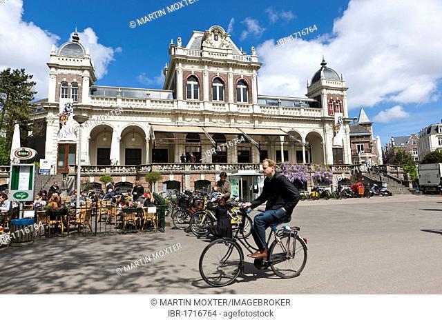 The film museum in Vondelpark, Amsterdam, Holland, Netherlands, Europe