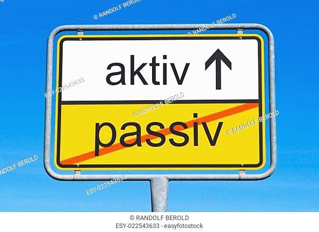 passiv und aktiv