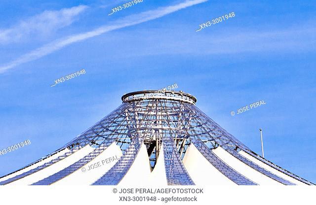 Sony Center Roof, Potsdam Square, Potsdamer Platz, Tiergarten district, Mitte, Berlin, Germany, Europe