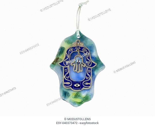 Hamsa hand amulet, used to ward off the evil eye in Mediterranean countries
