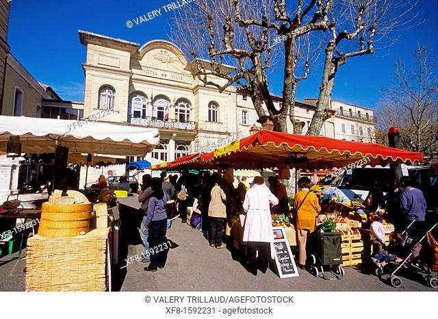 The city of Apt, Luberon, Vaucluse, Provence-Alpes-Côte d'Azur , France, Europe