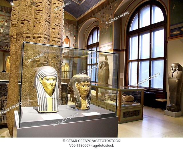 -Heads, Columns and Ancient Stones, Egypt-