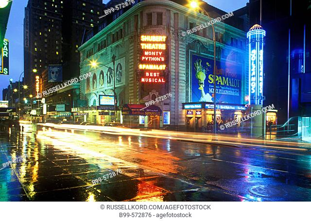 Shubert Theater, 44th Street, Midtown, Manhattan, New York, USA