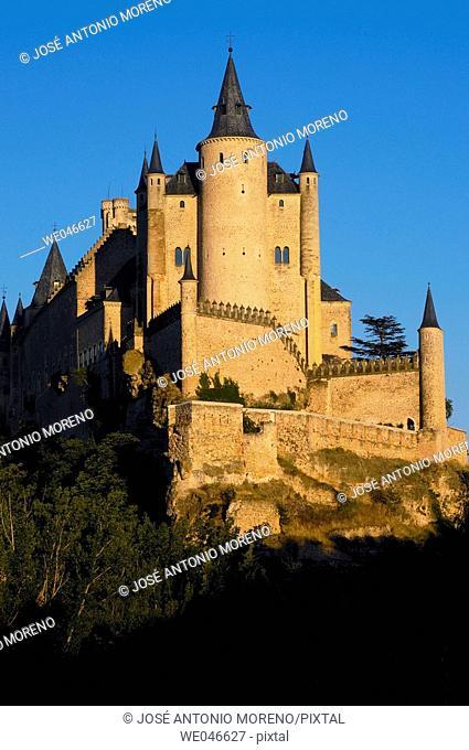 Alcazar fortress, Segovia. Castilla-León, Spain