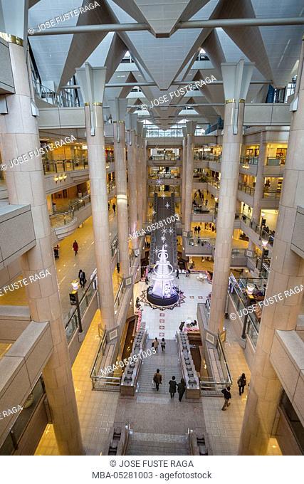 Japan, Yokohama City, Landmark Tower Complex, Interior