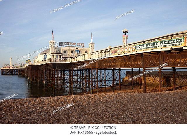 England, Sussex, Brighton, Brighton Pier