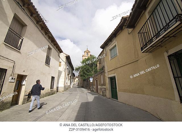 Tordesillas town in Valladolid province. Spain