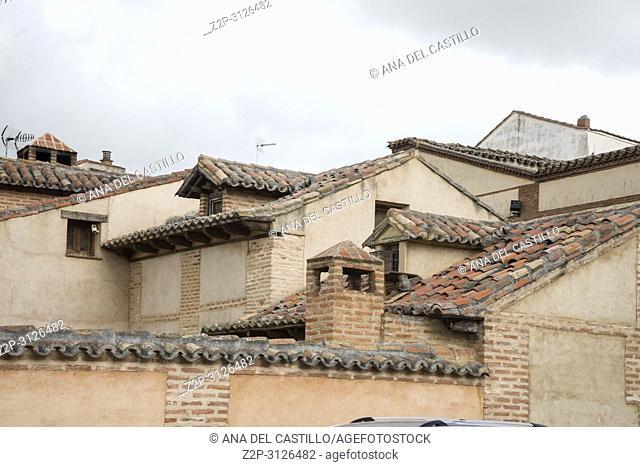 Tordesillas monumental town in Castile Leon Spain