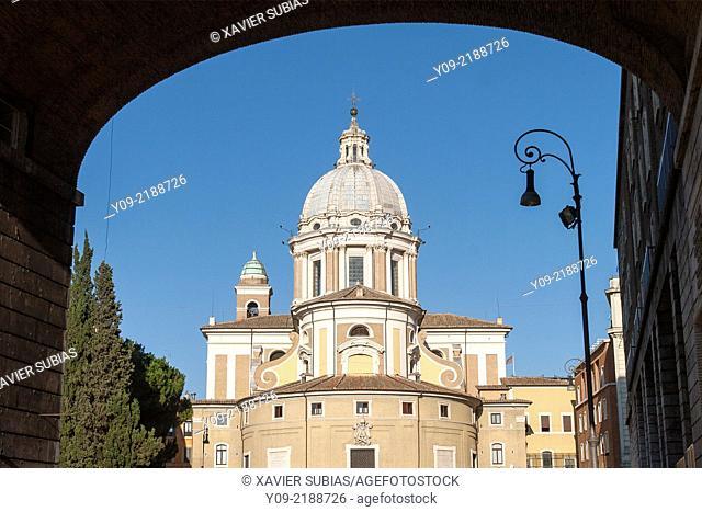 Church of Saints Ambrogio and Carlo al Corso, Rome, Lazio, Italy