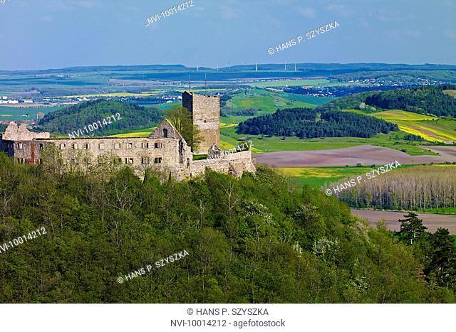 Gleichen Castle near Muehlberg, Drei Gleichen, Thuringia, Germany
