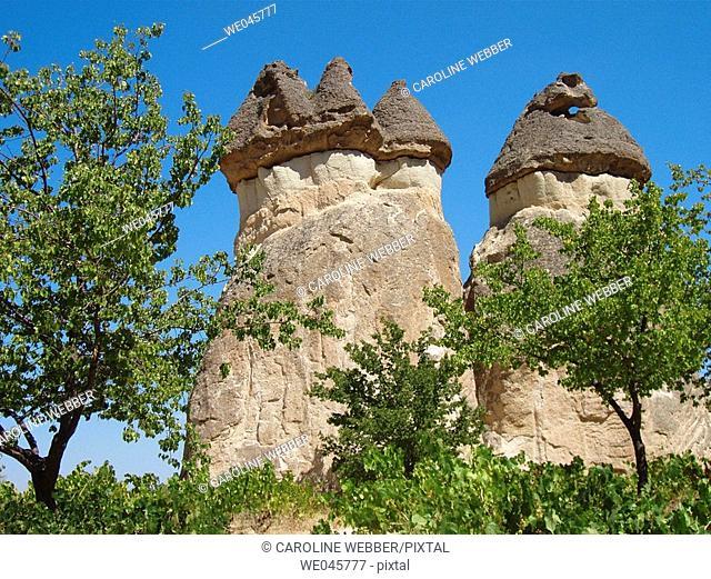 Cappadocia rock formations
