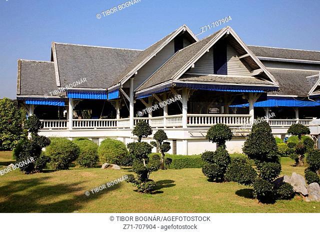 Thailand, Chiang Rai, Dusit Island Resort Hotel