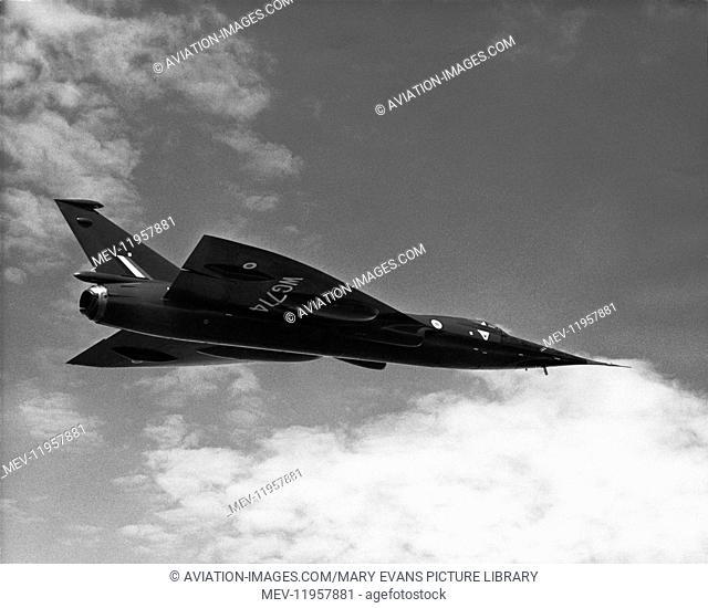 Bac 221 Supersonic Prototype Flying
