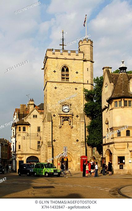 Carfax Tower, Oxford, England