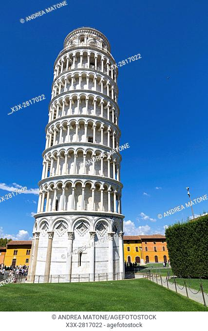 The Leaning Tower of Pisa. Pisa, Tuscany, Italy