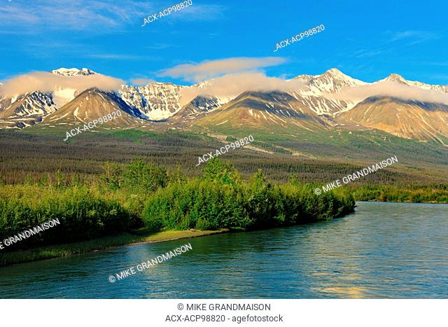 Deasadeash River near Haines Junction Yukon Canada