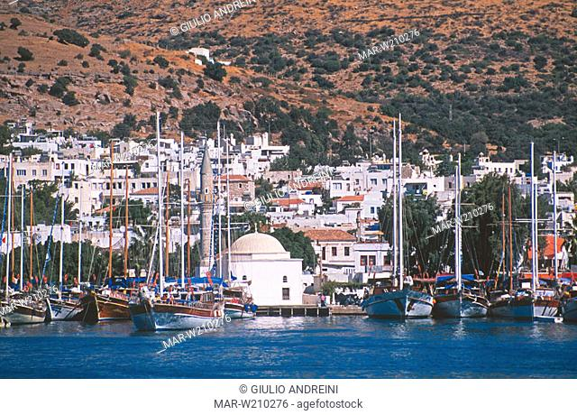 asia, turkey, bodrum