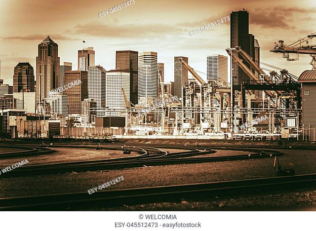 Vintage Port of Seattle